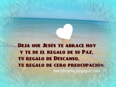 Dios da paz mensaje cristiano