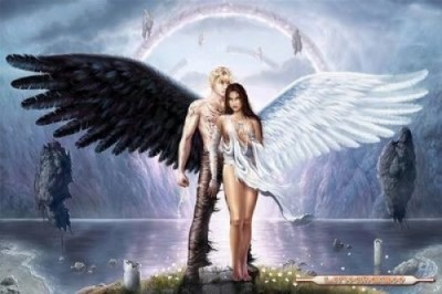 imagenes-de-angeles-enamorados-anime